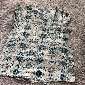Dressy Short Sleeved Blouse